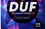۩   DUF'16 : Delhi University's Freshers   ۩