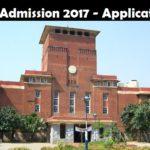 DU B.Ed Admission 2017 – Application Form