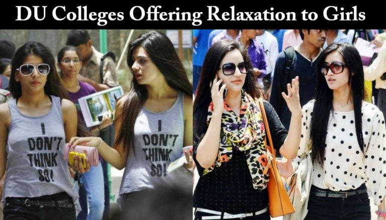 Delhi University – List of colleges offering relaxation to girls