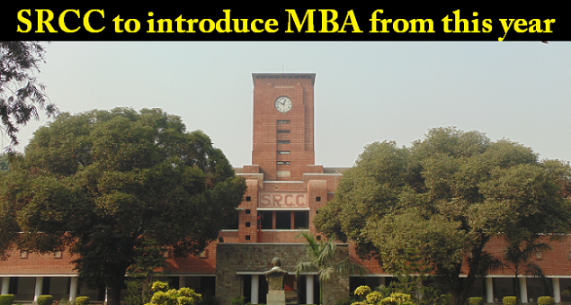 SRCC is likely to introduce a two-year MBA programme from this year