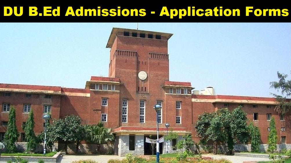 Delhi University B.Ed Admission