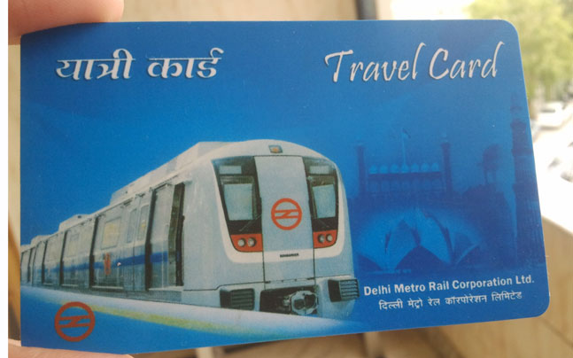 Image result for metro smart cards delhi