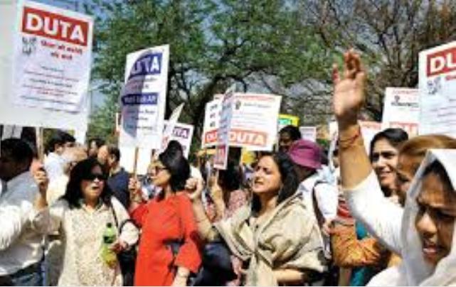 DUTA Flash Protest