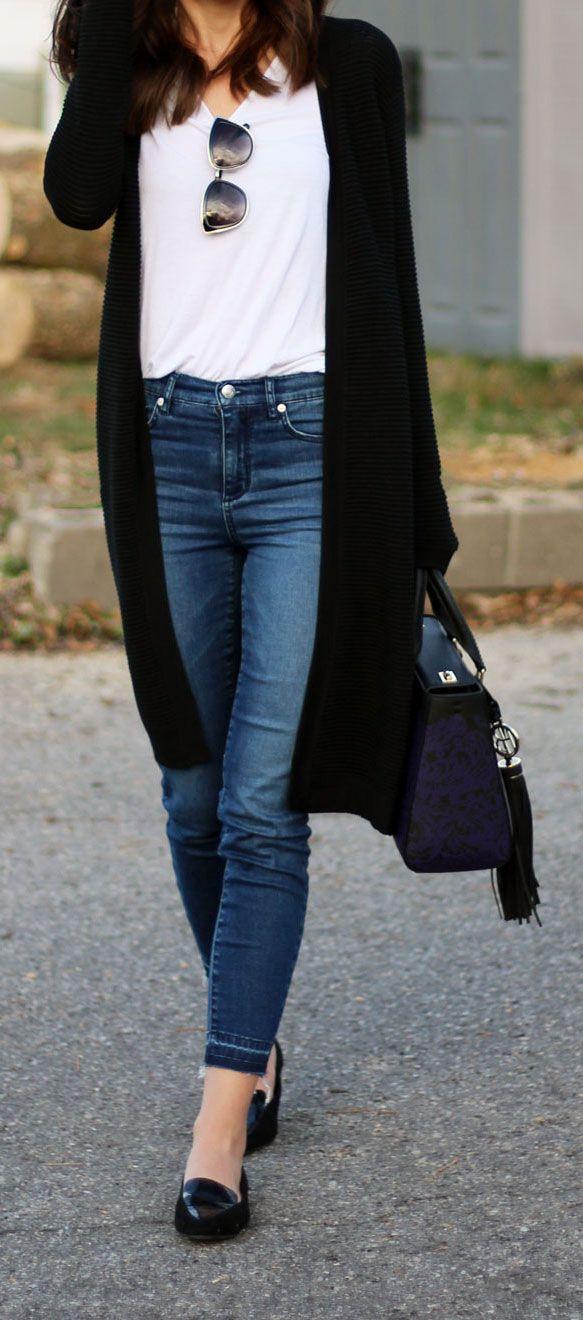 Image result for black shrug and jeans