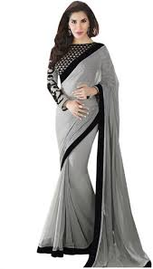 Image result for simple saree net