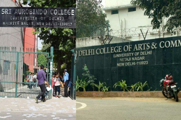 Acting principals of DCAC, Sri Aurobindo College (Evening) removed