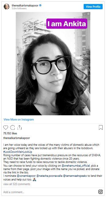 From Karshma Kapoor Instagram.