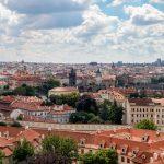 Prag, Blick von der Prager Burg