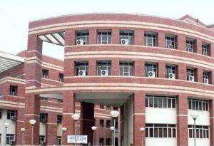 Delhi University's Rank